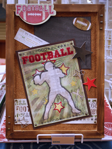 DT LYB Football Frame