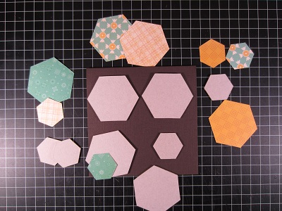 DTS HB HC Die Cut Hex Shapes 6