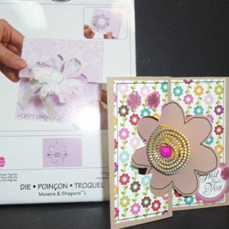 FI Flower Card with Die