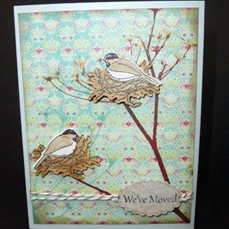IOB Bird Nests Card