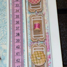 MR Vintage Tape Measure Pink 6
