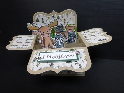 PME Pop Up Box Card