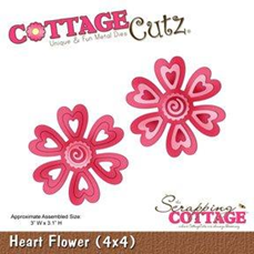 CC Heart Flower