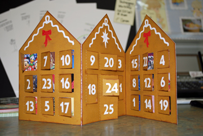 Silh Gingerbread Advent Cal