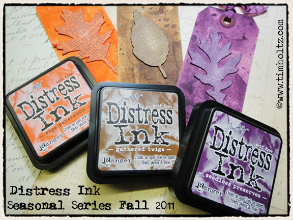 TH Fall Distress Inks Bundle